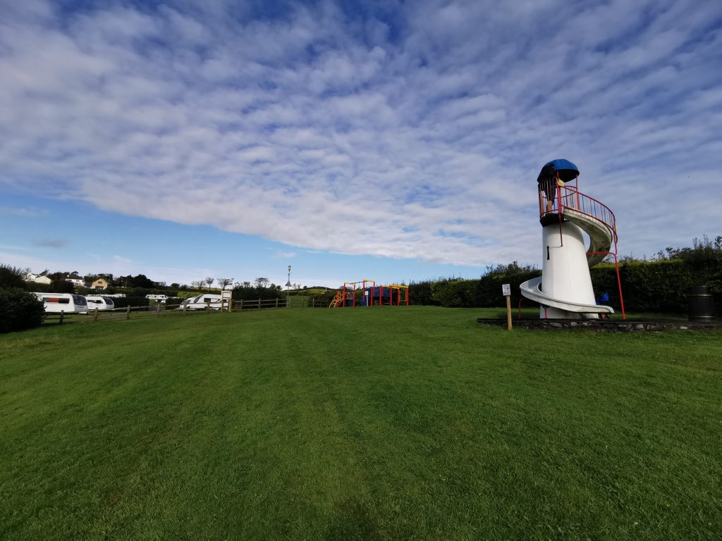 Anglesey campsite child friendly play park