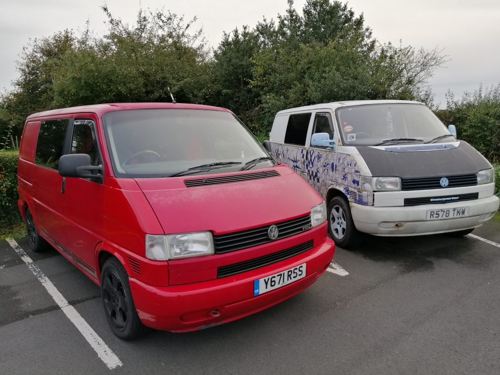 VW Transporter weight and payload