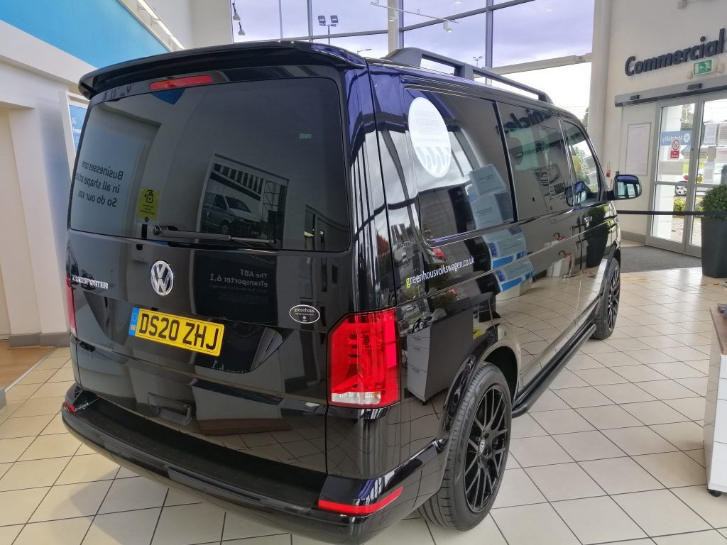 VW Transporter T6 weight