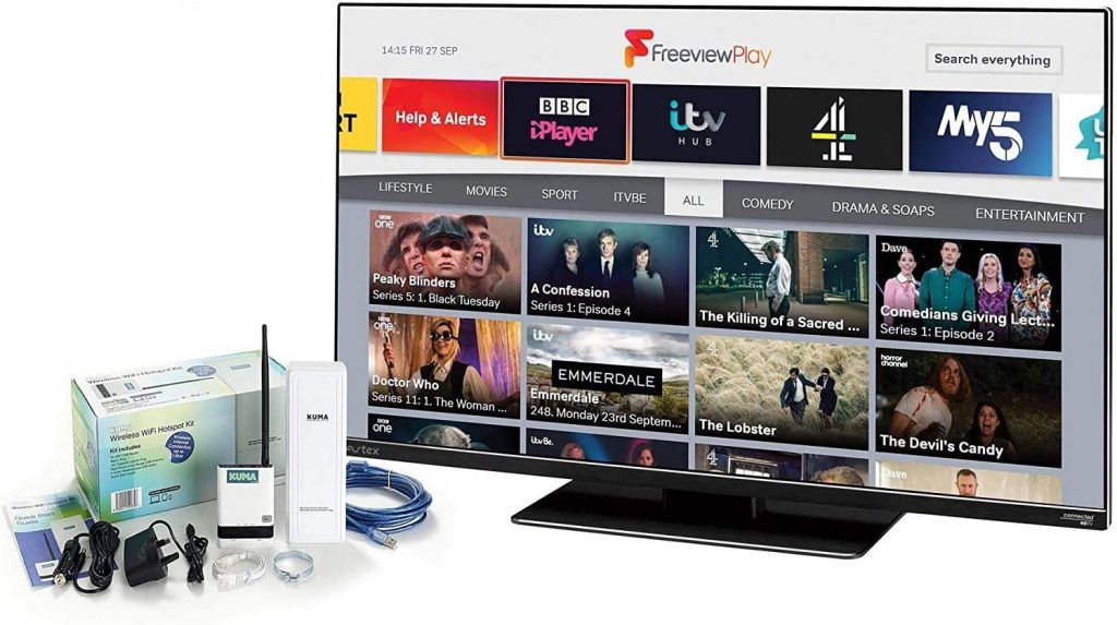 best all in one campervan tv system