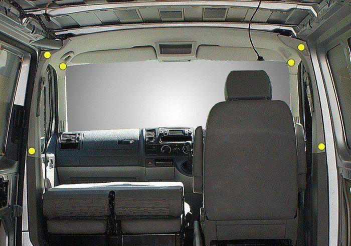 VW T6 curtains