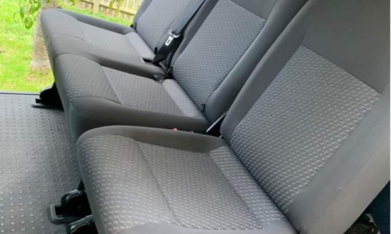 Change a VW T6 rear seat from triple bench to 2+1