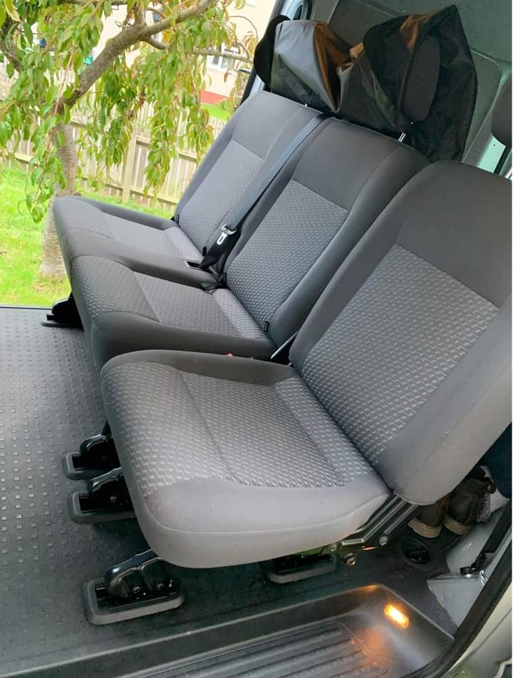VW T6 seat lay out 2 +1
