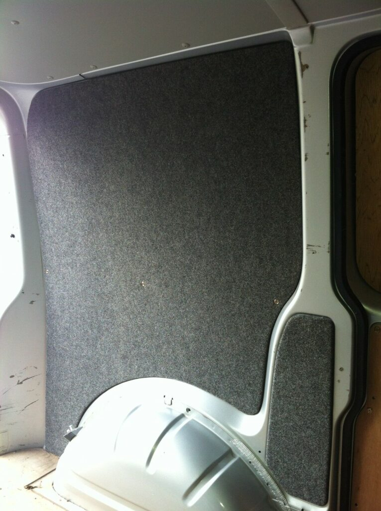 Pre cut and pre lined VW Transporter convert to camper kit